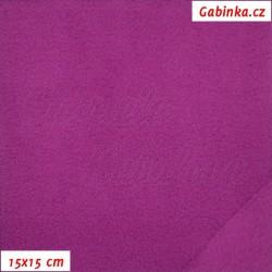 Microfleece antipilling - FLEECE592, Růžovofialový, šíře 140-155 cm, 10 cm