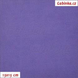 Microfleece antipilling - FLEECE707, Světle fialový, šíře 140-155 cm, 10 cm