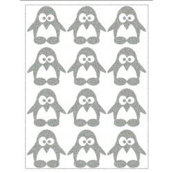 Reflexní nažehlovací potisk - Tučňáci I (12 ks)