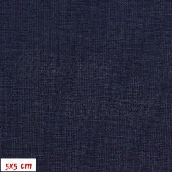 Viskóza 92-8 - tm. modrá, šíře 150 cm, 10 cm