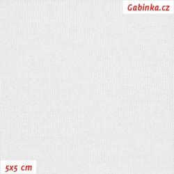 Viskóza 92-8 - bílá, šíře 150 cm, 10 cm