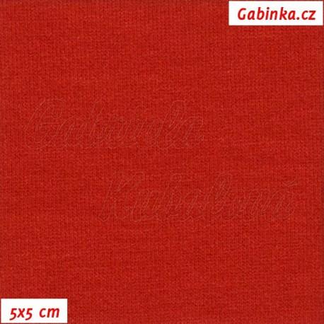 Viskóza, červená, 5x5cm
