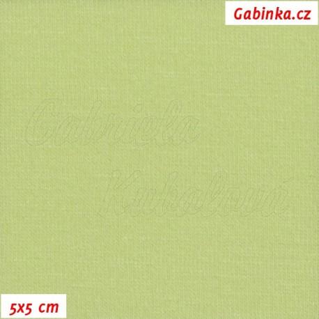 Viskóza, sv. zelená, 5x5cm
