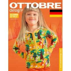 Časopis Ottobre design - 2012/4, Kids, Deutsch, podzimní vydání
