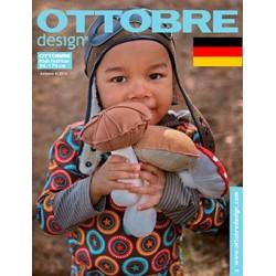 Ottobre design Kids, 2014-04, Titulní strana, Deutsch