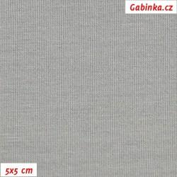 Viskóza 92-8 - světle šedá, šíře 150 cm, 10 cm