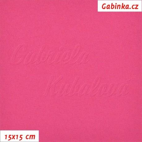 Kočárkovina, růžová MAT 539, 15x15cm