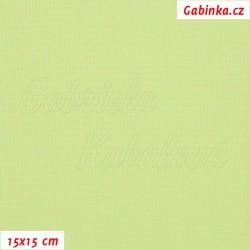 Kočárkovina, bledě zelená MAT 4, 15x15cm