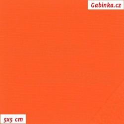 Látka softshell - 10000/3000, šíře 147 cm, NEON oranžová, 10 cm, SOFT785