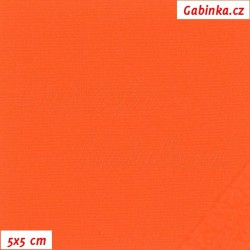 Softshell, NEON oranžový, 5x5cm