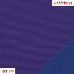 Softshell, fialový-modrý, 5x5cm
