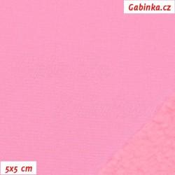 Softshell, růžový, 5x5cm