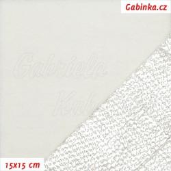 Termolin AL 240 g/m2 - bílý, šíře 90 cm, 50 cm