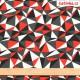 Kočárkovina, Trojúhelníky červené bílé a šedé, pohled s metrem