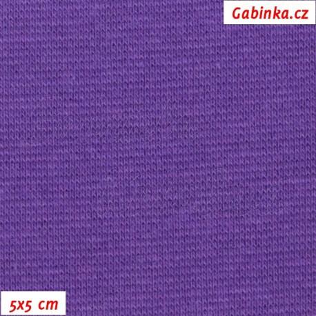 Náplet hladký, fialový, 5x5cm