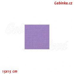 Plátno, středněfialové - lila