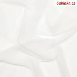 Látka Tyl elastický - bílý, šíře 140 cm, 10 cm