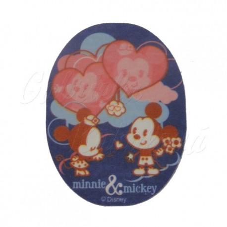 Nažehlovací záplata Disney Cuties, Minnie a Mickey Mouse