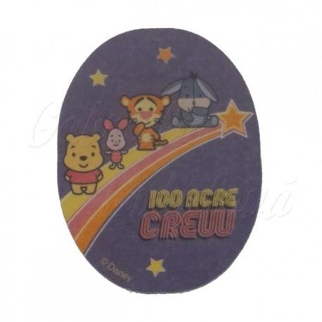 Nažehlovací záplata Disney Cuties, 100 Acre Crew