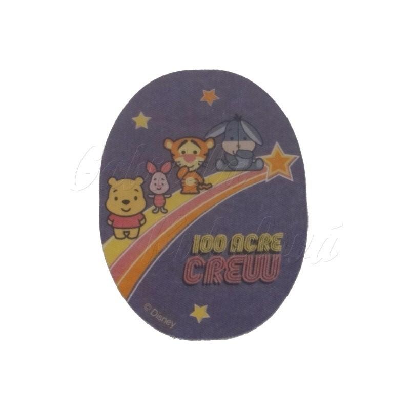 691e57797126 Nažehlovací záplata - Disney Cuties 18 - 100 Acre Crew