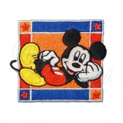 Nažehlovací záplata Disney Mickey Mouse