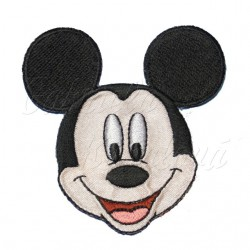 Nažehlovačka Mickey Mouse 2 hlava