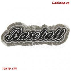 Nažehlovačka - nápis Baseball