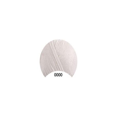 Příze - Camilla, bílá č. 0000, 50 g (125 m)
