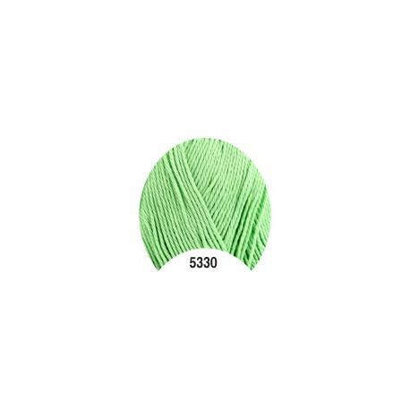 Příze - Camilla, světle zelená č. 5330, 50 g (125 m)