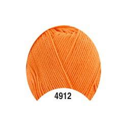 Příze - Camilla, oranžová č. 4912, 50 g (125 m)
