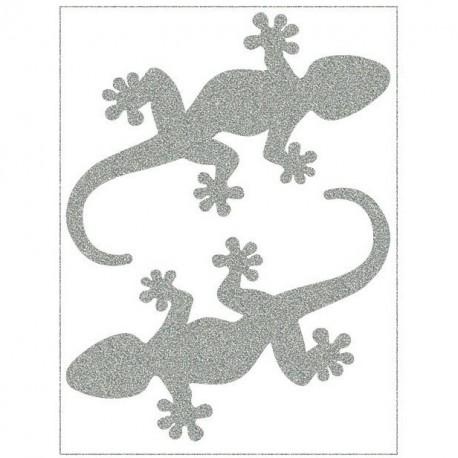 Reflexní nažehlovací potisk, Velké ještěrky