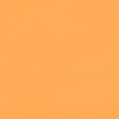 Látka, plátno - světle oranžová, meruňková, šíře 150 cm, 10 cm