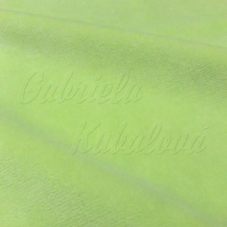 Kojenecký plyš, zelený