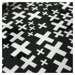 Softshell, Bílé kříže na černé