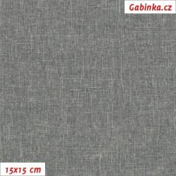 Kočárkovina DANTA 5 - tmavě šedá, 15x15 cm