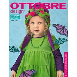 Časopis Ottobre design - 2012/1, Kids, Deutsch, jarní vydání