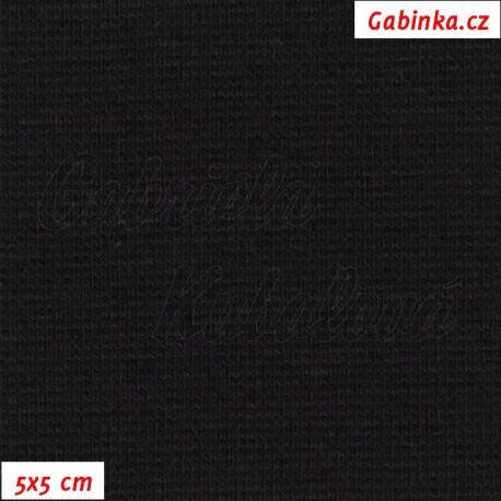 Náplet hladký, černý, 5x5cm