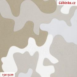 Kočárkovina Primax - Maskáč světlá khaki, šíře 158 cm, 10 cm