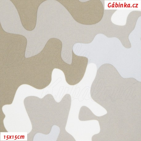 Šusťák - Primax Maskáč světle khaki, 15x15 cm