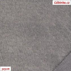 Warmkeeper - středně šedý 129, šíře 165 cm, 10 cm