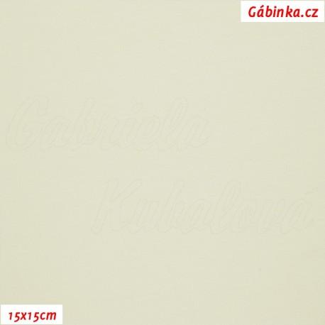 Úplet smetanový, b.0971, 15x15 cm