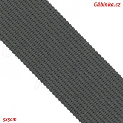 Lemovací proužek PES, tmavě šedý, šíře 2,5 cm, 1m