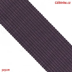 Lemovací proužek PES, temně fialový, šíře 2,5cm, 1m