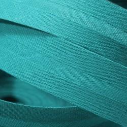 Šikmý proužek bavlněný, Tyrkys 596122, šíře 20mm, 1m