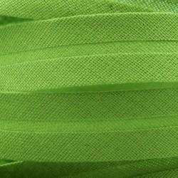 Šikmý proužek bavlněný - zelený 700414, šíře 20mm, 1m
