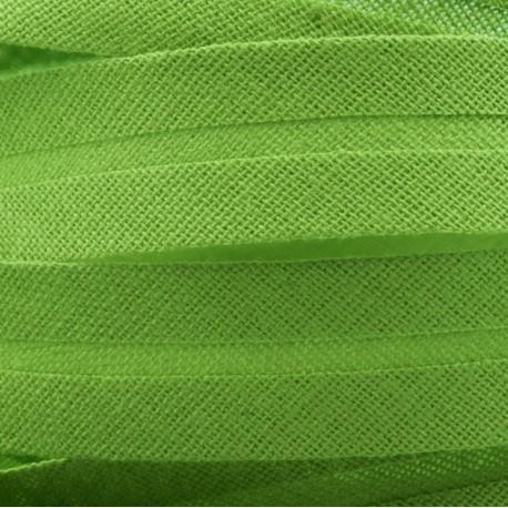 Šikmý proužek bavlněný zelený, šíře 20mm