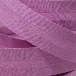 Šikmý proužek bavlněný - fialový 400873, šíře 20mm, 1m