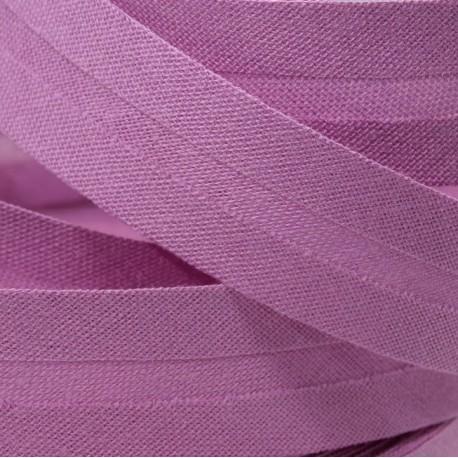 Šikmý proužek bavlněný - fialový 400873, šíře 20mm