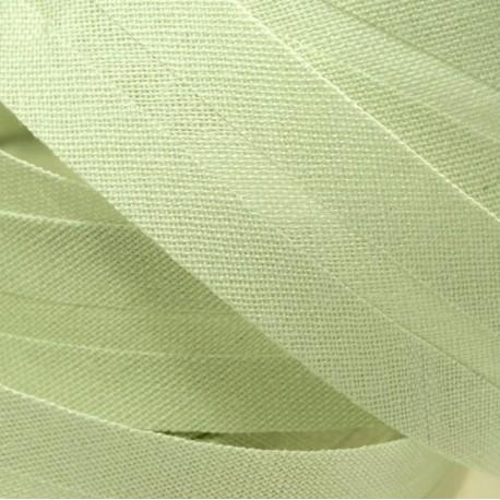 Šikmý proužek bavlněný - světle zelený 734251, šíře 20mm