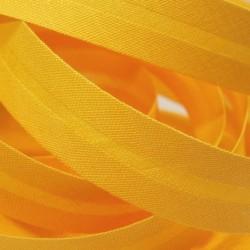 Šikmý proužek bavlněný - sytě žlutý 143662, šíře 20mm, 1m